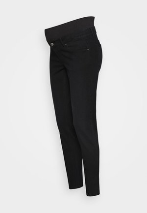 PCMKENYA MOM - Vaqueros pitillo - black denim