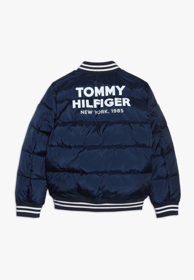 Tommy Hilfiger - PADDED BOMBER - Zimní bunda - blue