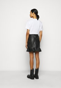 2nd Day - SPRUCIA - Mini skirt - black - 2