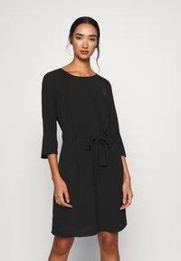 Vila - VIRASHA DRESS - Day dress - black - 0