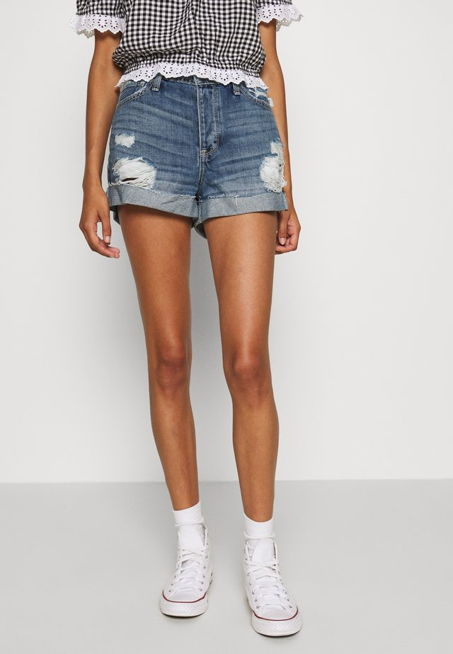 Shorts di jeans - medium destroy