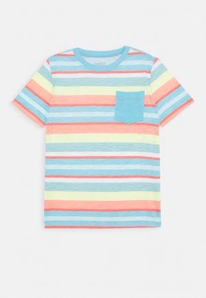 BOYS TEES TEENS - Print T-shirt - blue