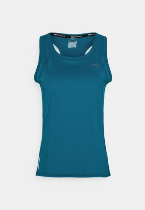 TRAIN FAVORITE RACERBACK - Sports shirt - digi-blue