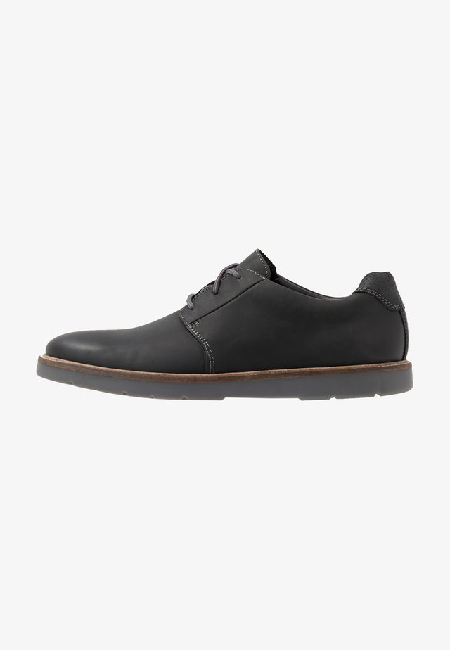 GRANDIN PLAIN - Casual lace-ups - black