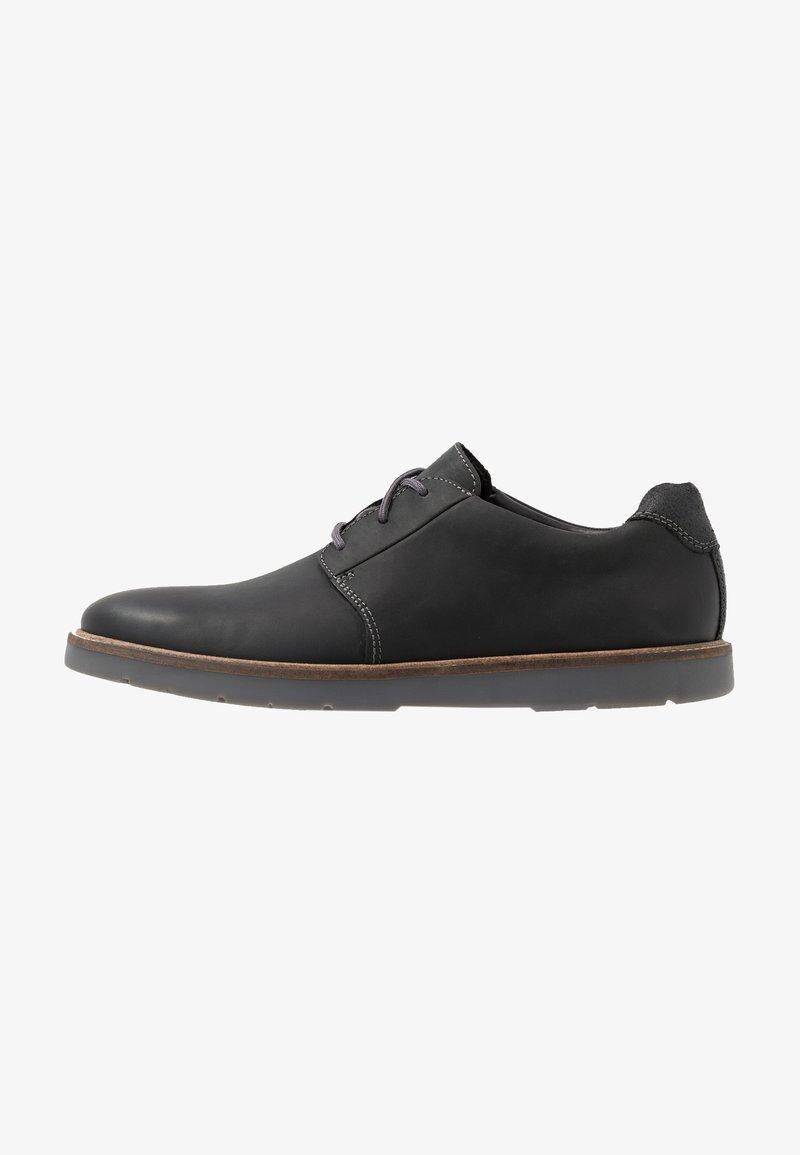 Clarks - GRANDIN PLAIN - Casual lace-ups - black