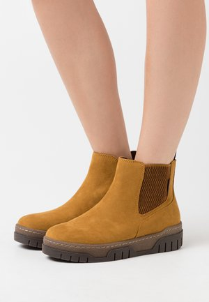 Ankle Boot - mustard yellow