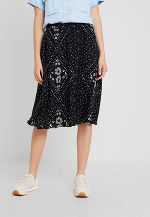 VMNICE SKIRT - A-line skirt - black