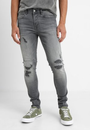 ONSSPUN - Jeans Skinny Fit - grey denim