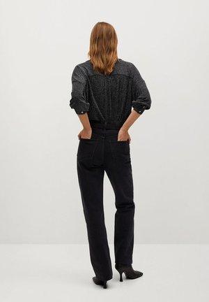 BLUTIBRI - Button-down blouse - argent