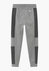 Nike Sportswear - Tracksuit bottoms - charcoal heather/grey heather/white - 1