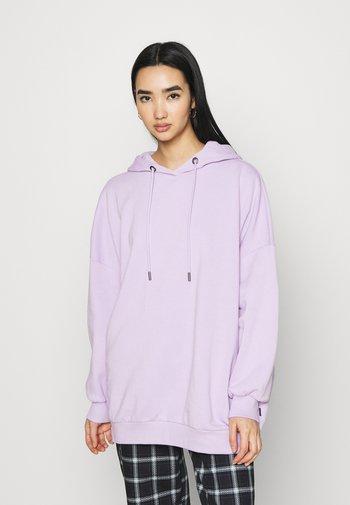 NMBELIEVE OVERSIZE - Sweat à capuche - pastel lilac