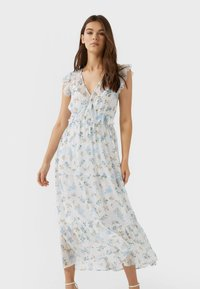 Stradivarius - Maxi dress - blue - 0