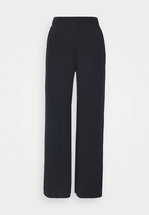 MYLA WIDE LOOSE PANTS - Trousers - dark sapphire