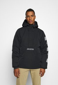 Hollister Co. - ANORAK - Light jacket - black - 0