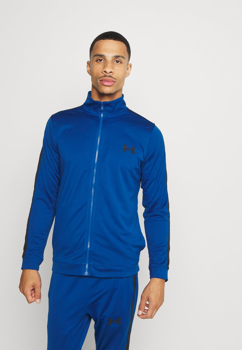 Under Armour - EMEA TRACK SUIT - Survêtement - graphite blue