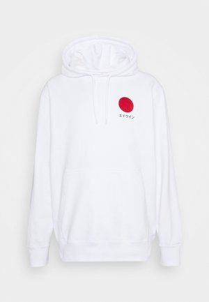 JAPANESE SUN HOODIE UNISEX - Sweatshirt - white