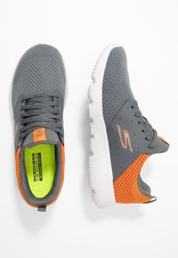 Skechers Performance - GO RUN FOCUS - ATHOS - Neutral running shoes - charcoal/orange - 1