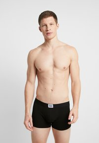 Jack & Jones - JACBASIC PLAIN TRUNKS 8 PACK - Boxerky - black/navy blazer - 1