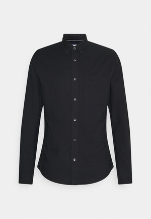OXFORD SOLID SLIM - Shirt - black