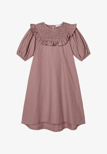 Day dress - twilight mauve
