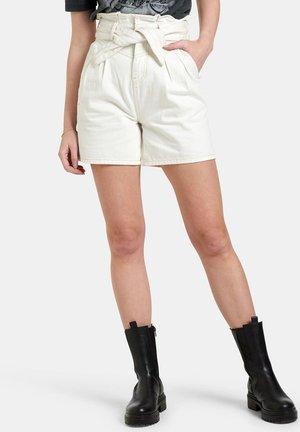 WONDER DENIM SHORT - Shorts di jeans - white