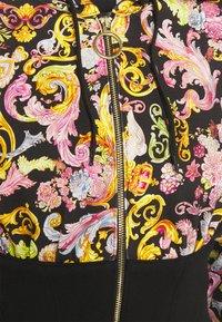 Versace Jeans Couture - veste en sweat zippée - black - 2