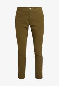 Sisley - TROUSERS - Pantaloni - olive - 4