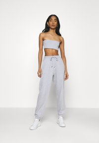 Missguided - SET - Top - grey - 0