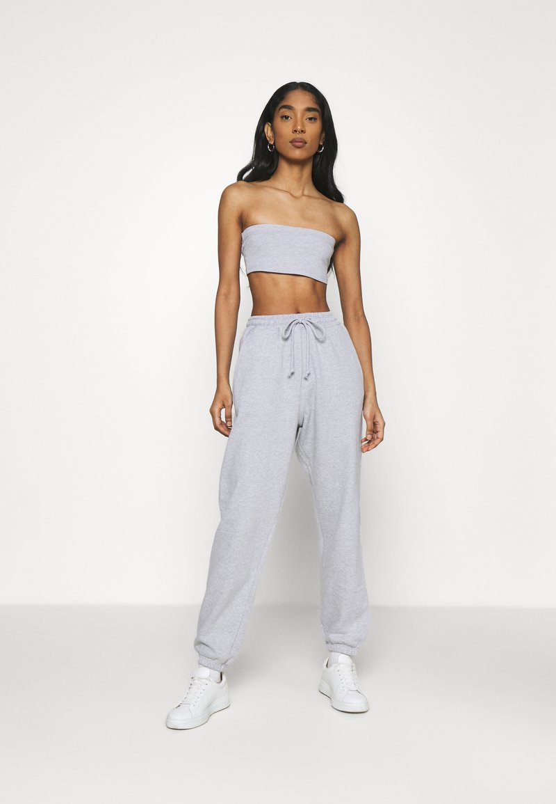 Missguided - SET - Top - grey