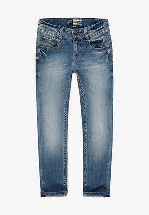 Straight leg jeans - mid blue stone