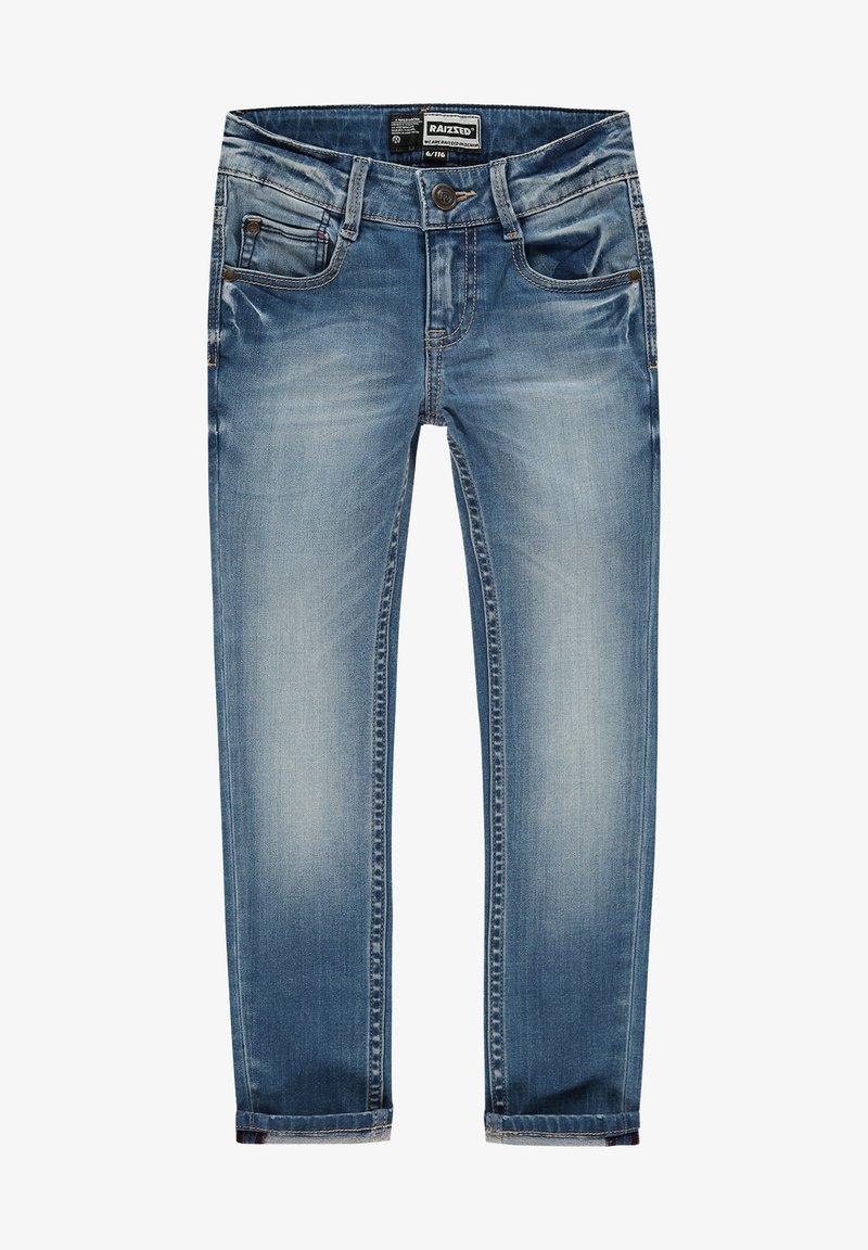 RAIZZED - Straight leg jeans - mid blue stone