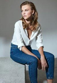 Trendyol - Button-down blouse - white - 5