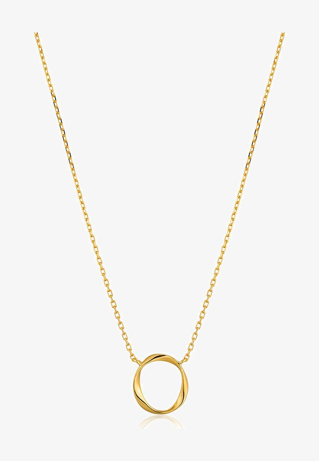SWIRL - Necklace - gold