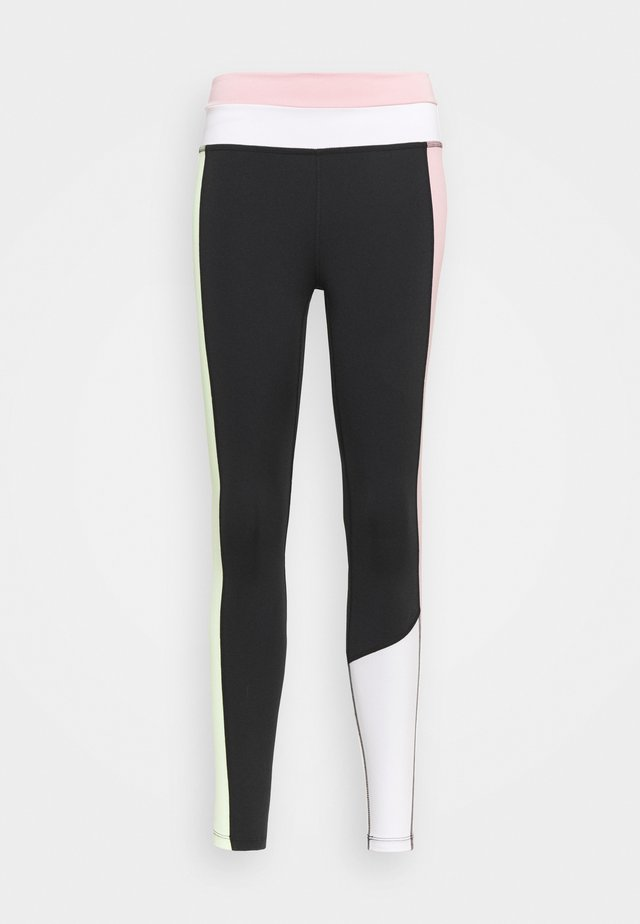 ONE 7/8 - Leggings - black/pink glaze/barely volt/black