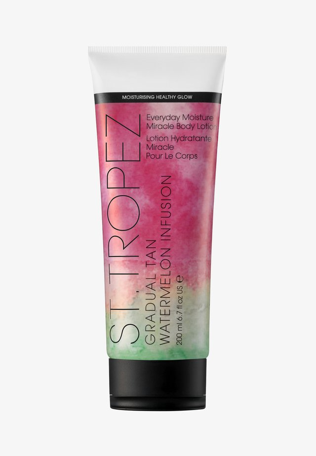 GRADUAL TAN WATERMELON INFUSION EVERYDAY MOISTURE MIRACLE BODY LOTION 200ML - Selbstbräuner - -
