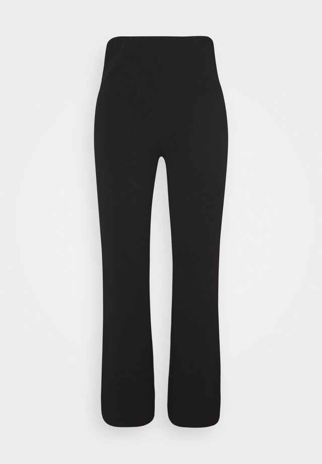 VIVA TROUSERS SCALE - Bukse - black dark solid