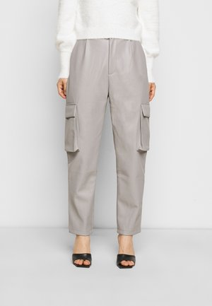 POCKET TAPERED TROUSER - Kalhoty - charcoal