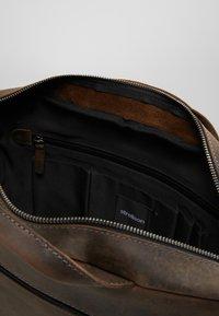 Strellson - HUNTER BRIEFBAG - Briefcase - dark brown - 5