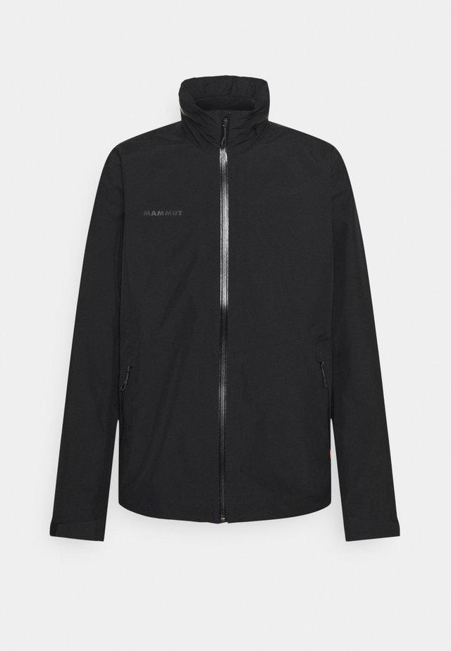 AYAKO TOUR HOODED JACKET MEN - Hardshell jacket - black