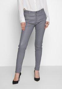 Oakwood - Kožené kalhoty - grey - 0