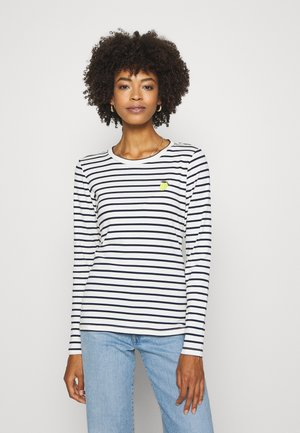 KALIDDY LEMON  - Long sleeved top - chalk/midnight marine