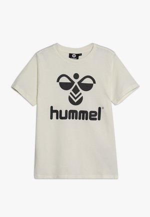 HMLTRES - Print T-shirt - whisper white
