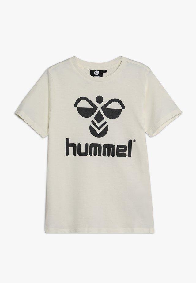 HMLTRES - Print T-shirt - whisper white