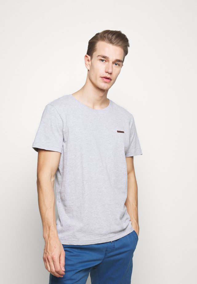 NEDIE - T-shirt basique - light grey