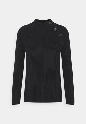 ASYM RAGALN MOCK  - Jumper - true black