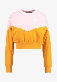 orange peel/med soft pink/white