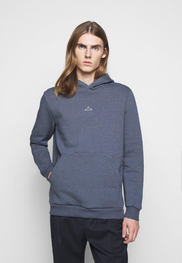 HANGER HOODIE - Sweatshirt - blue melange
