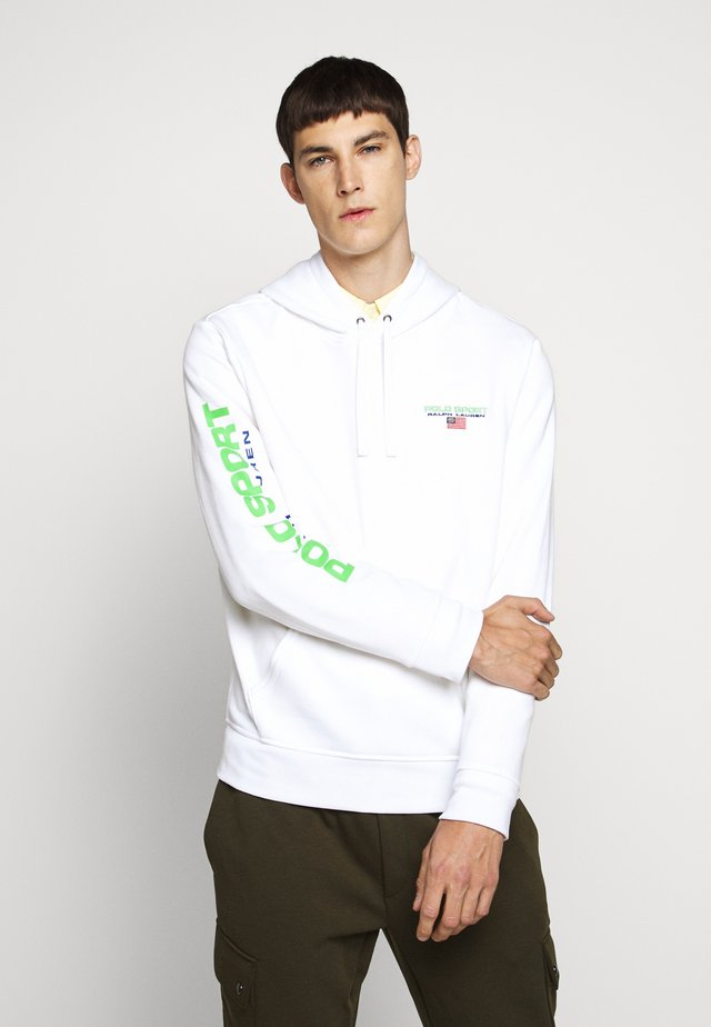 Sweat à capuche - white