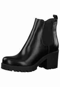 Tamaris - CHELSEA - Ankle boots - black/struct. - 2