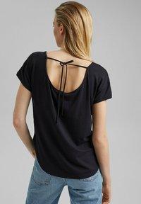 edc by Esprit - Print T-shirt - black - 2